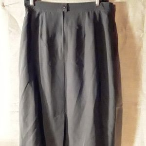 Maxmara gray pencil skirt